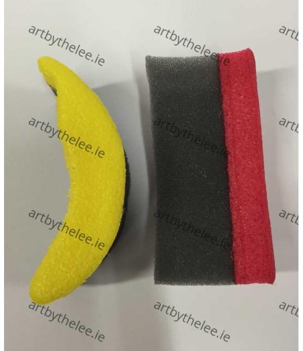 Sponge Stampers Fruit