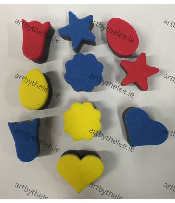 Sponge Stampers Shapes