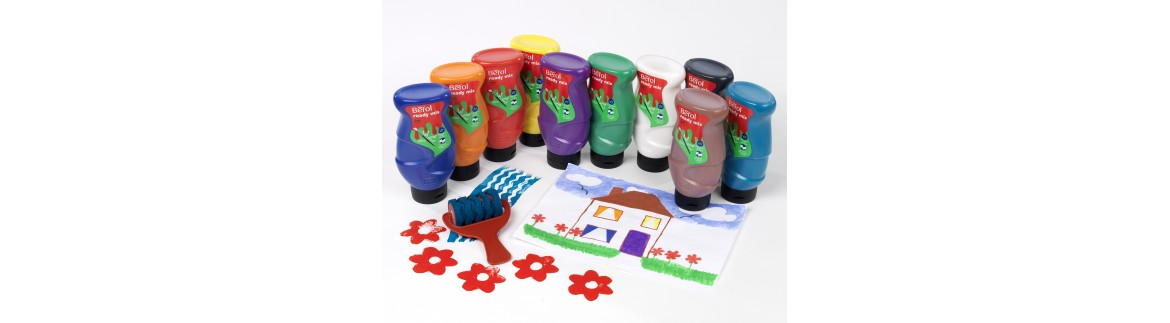 Liquid paints