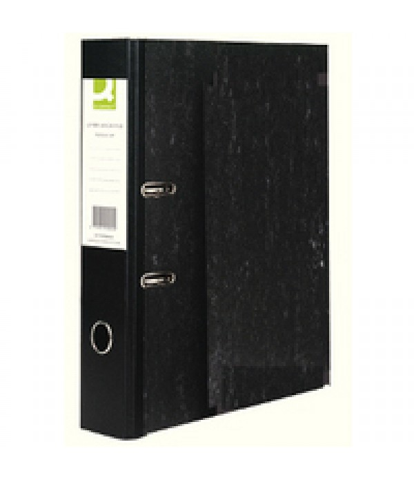 Lever Arch File Foolscap Box of 10 Black