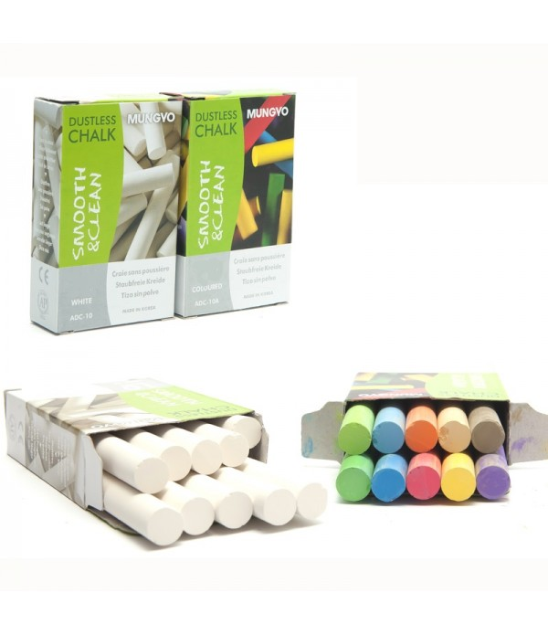 Chalk White Box Of 144