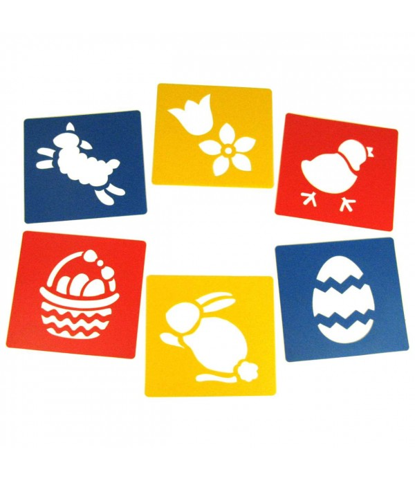Washable Stencils Easter