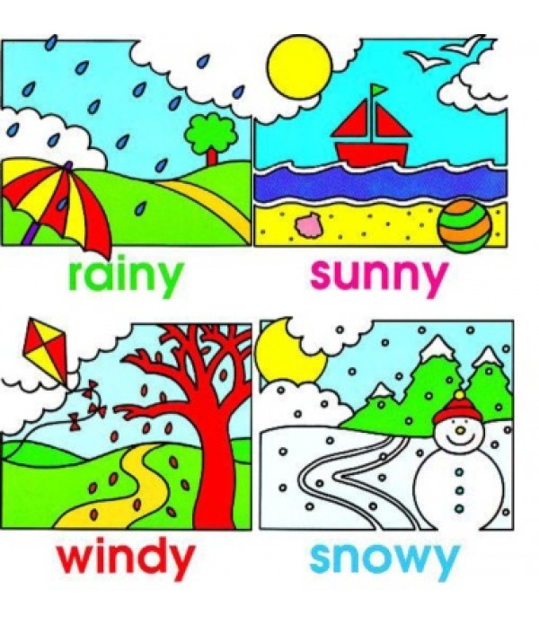 Weather Jigsaw Set of 4
