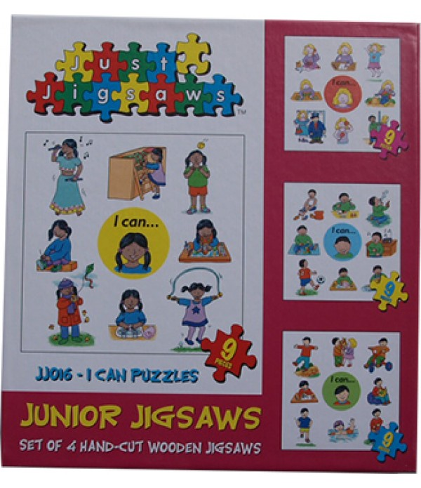 I Can Jigsaw Set Of 4