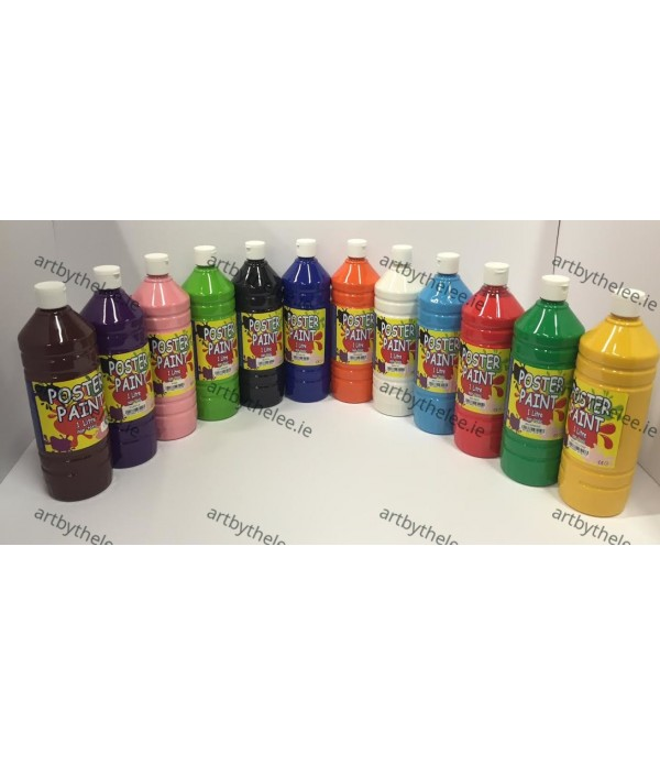 Poster Paint 12 X 1 Litre OFFER