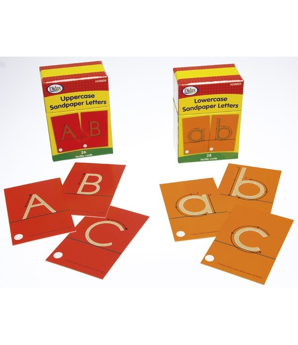 Sand Paper Letters Lower Case