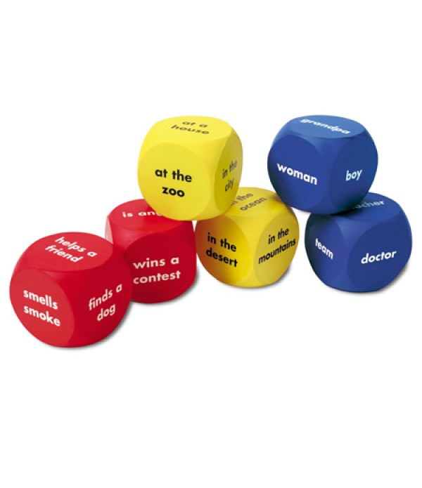 Story Starter Word Cubes